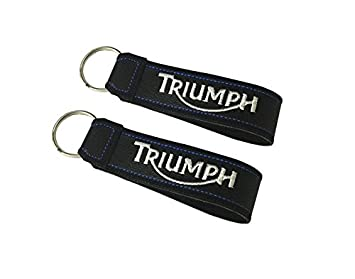 Moto Discovery Triumph cordón Llavero Doble Cara (1 Pieza ...