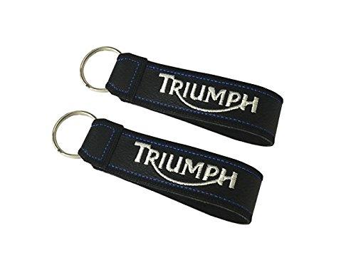Moto Discovery Triumph Porte-clés à Bande (1 pièce)
