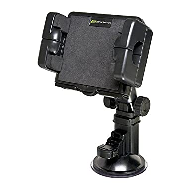 Amazon.com: Bracketron Pro-Mount XL Windshield Mount for cars or trucks works with large GPS devices and tablets Garmin Nuvi TomTom Via Go Magellan DashCam ...