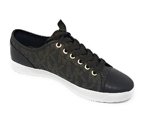 Michael Kors MK City Sneaker, Chocolate Brown, Size 8