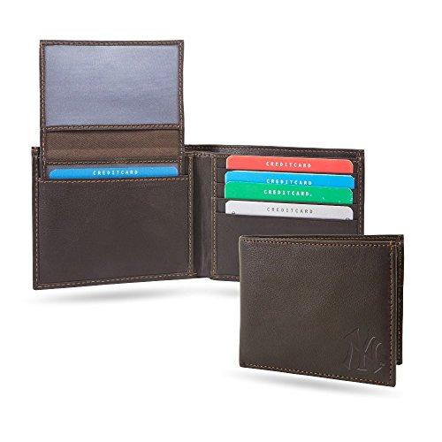 (New York NY Yankees MLB RFID Blocking Shield Leather Billfold Wallet)