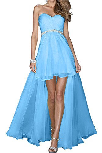 mujer Azul para Topkleider trapecio Vestido qXt8wnHxa
