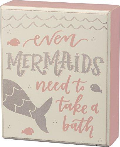 Box Sign - Mermaids Bath 5
