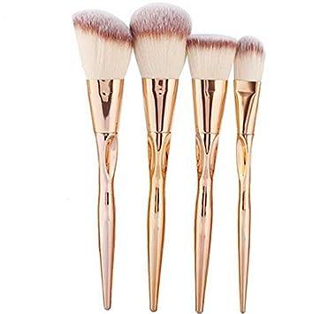 d358467bb750 Kaputar 8pcs Pro Makeup Brush Set Powder Foundation Eye shadow ...