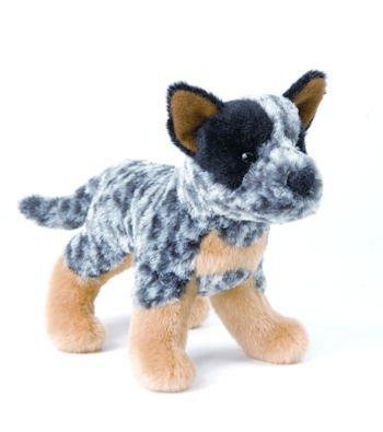 "Clanger Australian Cattledog 8"" by Douglas Cuddle Toys"