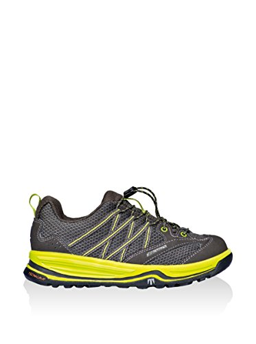 Tecnica Spectrum Jr Test Running Neu Kinder Schu. Antracite/Giallo Fluo