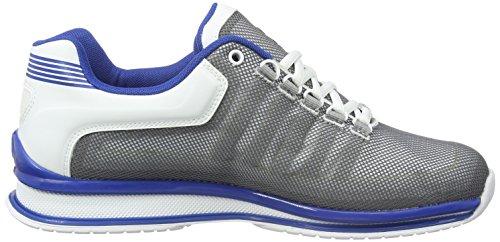 K-Swiss Rinzler Trainer, Zapatillas Para Hombre Blanco (White/Classic Blue)