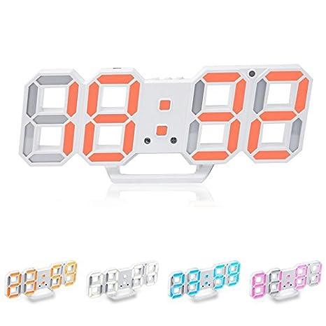 Global Brands Online Reloj de Alarma LED Loskii HC-28 de ...