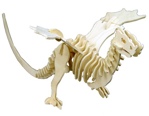Dragonology Wyvern Dragon Wooden Construction Kit [Toy]