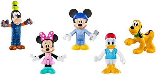 Gang Figure Set - Fisher-Price Disney Mickey's Garage Gang Deluxe Figure Set