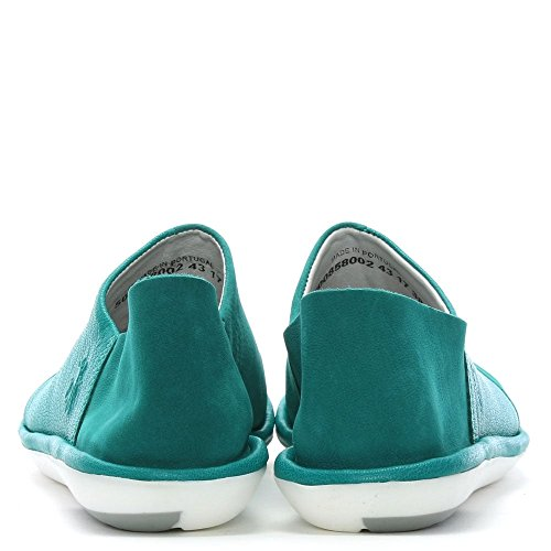 Fly Casual London On Turquoise Shoe Leather Mola Slip Sx1TrwqvS