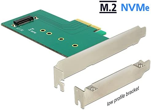 Delock Pcie X4 1 X M 2 Key M Nvme Low Profile Form Elektronik
