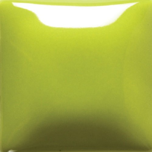 Mayco Foundations Opaque Glaze - FN 037 - Chartreuse - 4 Ounce Jar