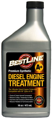 BestLine 853796001429 Premium Synthetic Diesel Engine Treatment - 16 oz.
