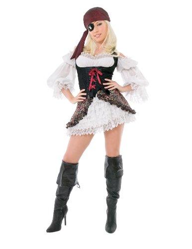 Playboy Buccaneer Beauty Adult Costume - Large