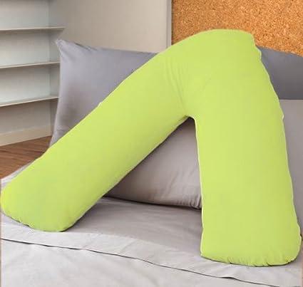 JaaZ Linens * * _ _ 100% algodón egipcio verde fundas de almohada