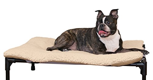 K&H Pet Products Original Pet Cot Pad Medium Tan 25""