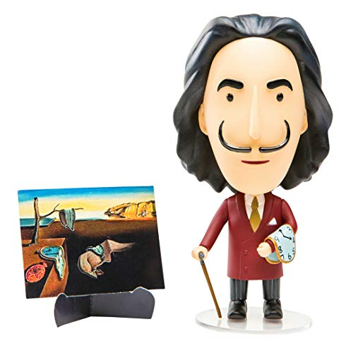 (Today is Art Day, Art History Heroes Collection Figurine, Salvador Dali)