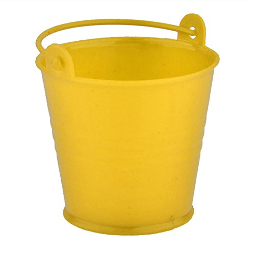 Candy Buckets, Peleustech 20Pcs 2.42.21.6 Inch Mini Cute Wedding Party Candy Buckets Pails - Yellow