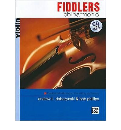 Fiddlers Philharmonic Violin Book Cd Paperback Common By