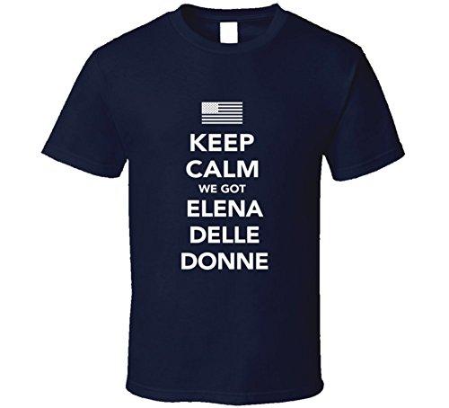 Elena Delle Donne Keep Calm Team Usa 2016 Olympics Basketball T Shirt Xl Navy
