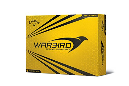 Callaway Warbird Golf Balls, Prior Generation, (One Dozen), Yellow