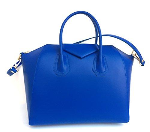 Superflybags - Bolso de asas para mujer XL azul