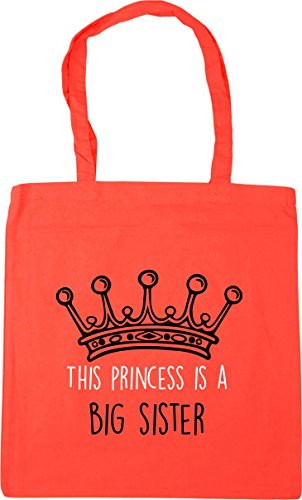 Gym litres 10 This Bag princess HippoWarehouse x38cm big 42cm sister is Coral a Beach Shopping Tote 6O8qgw