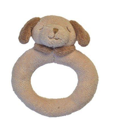 Angel Dear Light - Angel Dear Ring Rattle, Light Brown Puppy