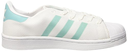 footwear Adidas Mint Footwear Zapatillas Blanco Para De Superstar White Baloncesto easy Mujer Mint UqwUACH