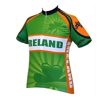 Amazon.com   World Jerseys Men s Ireland Cycling Jersey cfa3882d2