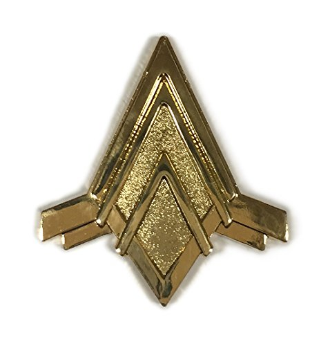 Battlestar Galactica Viper Pilot (Battlestar Galactica VIPER PILOT Logo Enamel PIN)