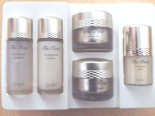 Korean Cosmetics, LG O HUI The First Cell Revolution 5 Piece Special Trial Sample Miniature New set by Ohui