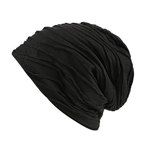 de de a Slouchy negro Gorra Fever funda Spring diseño Beanie elegante calavera gorro qZAwzR