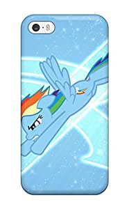 Excellent Design Awesome Rainbow Dash By Slurpynom Dxdwo Phone Case For Iphone 5/5s Premium Tpu Case