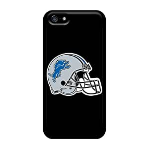 Durable Detroit Lions 6 Back Case/cover For Iphone 5/5s