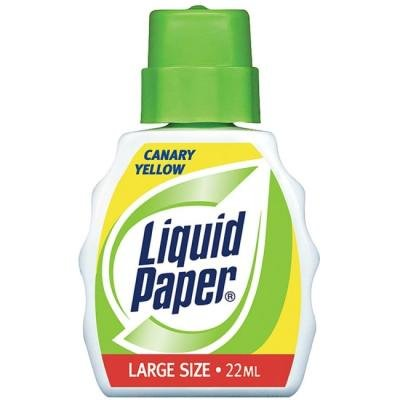 Paper Mate Liquid Paper Color Correction Fluid