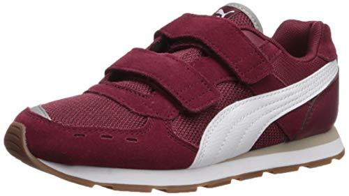 - PUMA Baby Vista V Sneaker Cordovan-White 6 M US Toddler