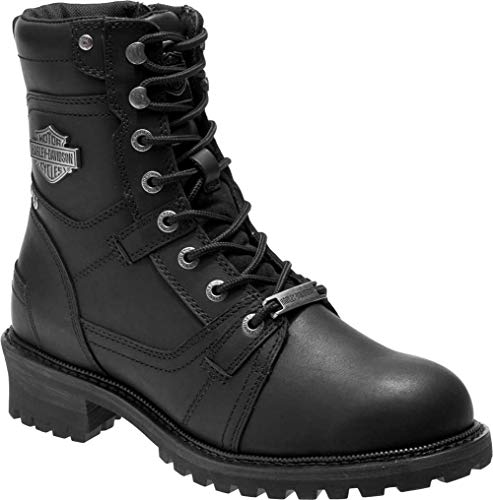 (Harley-Davidson Men's Haines Motorcycle Boot, Black, 13 M US)