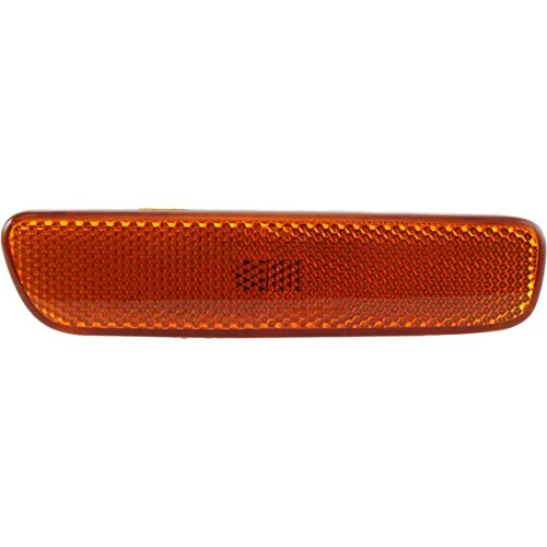 DAT AUTO PARTS Front Side Marker Light Assembly Amber Lens in The Bumper Replacement for 99-03 Lexus RX300 LX2551102 Right Passenger Side