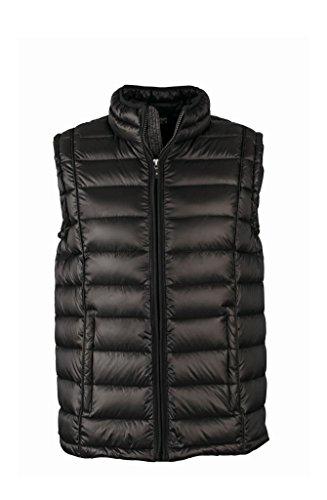 Gilet Black Sportivo Con black Down Quilted Vest Men's Collo Rialzato rr6w8xfZ