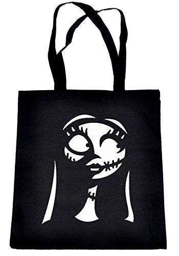 Sally Silhouette Nightmare Before Christmas Tote Bag Alternative Clothing Book Bag
