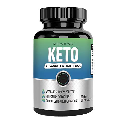 Keto Diet Pills - (60 Capsules) Advanced Ketogenic Fat Burning Support Supplement | Natural Appetite Suppressant | Promotes Mental Clarity, Focus, and Energy Pills