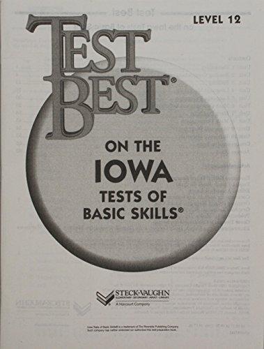 Test Best ITBS: Test Workbook  Grade 6 (Level 12)
