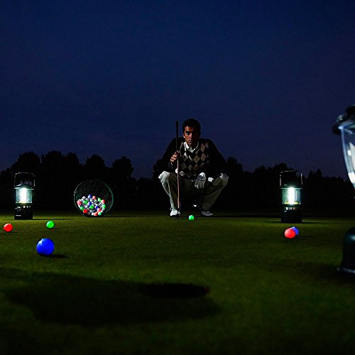 Glow Golf Balls, ZLIXING Led Golf Balls Novelty Golf Ball Funny Golf Ball Colored Golf Balls, Light up Golf Balls Professional Practice Golf Balls Glow in Dark for Night Sports (3 Pices) by ZLIXING (Image #5)