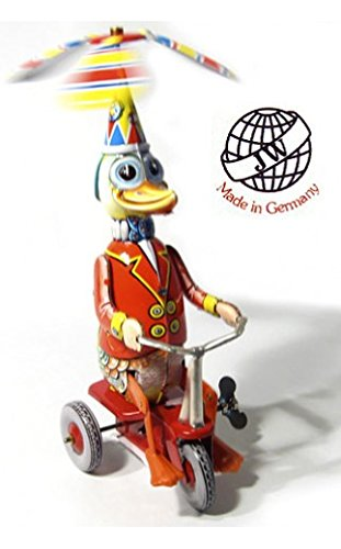 Wind Up Tricycle (Vintage Joseph Wagner Duck Riding Tricycle)