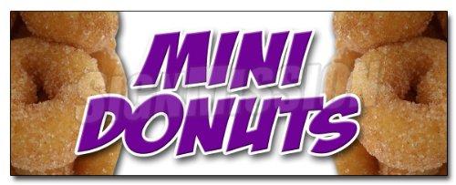 L sticker donut fried dough sugar chocolate mini powdered cinnamon doughnut doughnuts minature ()