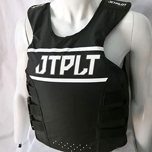 New Mens Guys Slippery Array Side Entry Neo Vest Life Vest Black Green S-2X