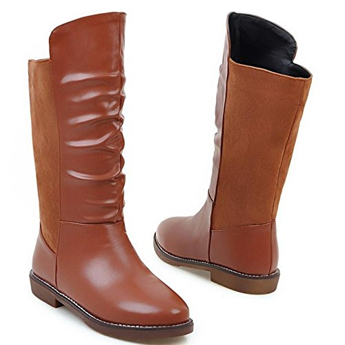 COOLCEPT Riding Boots para Mujer Brown