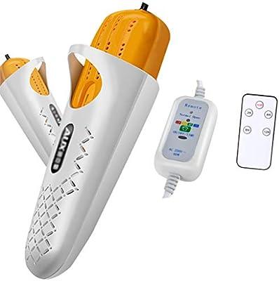 Secador de zapatos para dormitorios Desodorización y desinfección de los secadores de zapatos domésticos Calzado de usos múltiples Calzado cómodo Adecuado ...